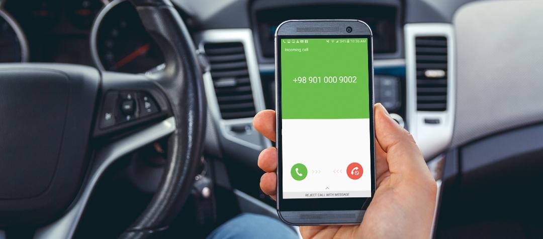 فعال سازی تماس امن بین کاربر مسافر و کاربر راننده اسنپ
